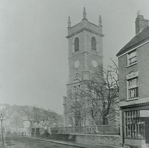 St Edmund's Church from Castle Street