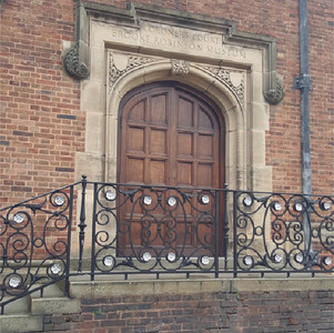 Entrance to Dudley Coroner's Court
