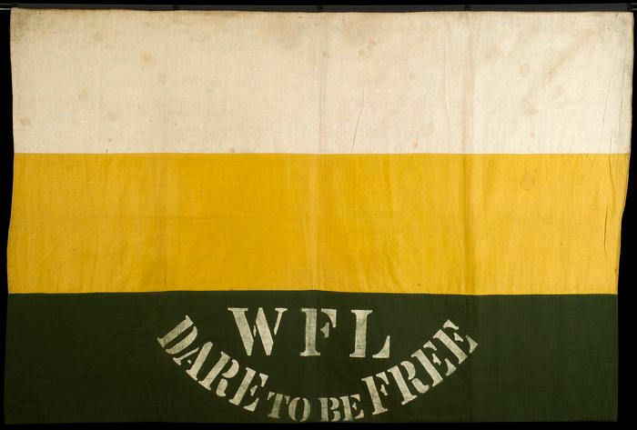 WFL banner c1908 (London School of Economics, TWL.1998.05)