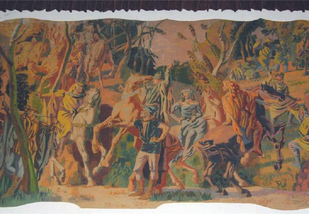 Hans Feibusch mural