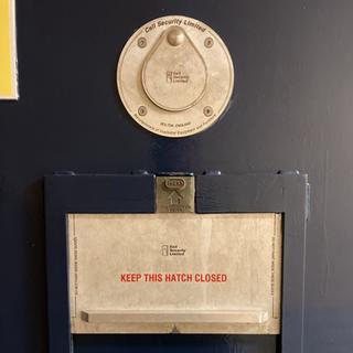 Cell door hatch