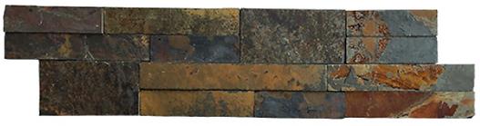 Multicolor Bark Ledger Stone pool edge