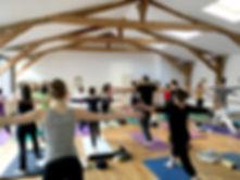 l'atelier yoga cours hebdomadaires