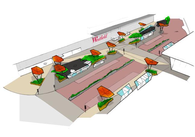 Transport hub axo design