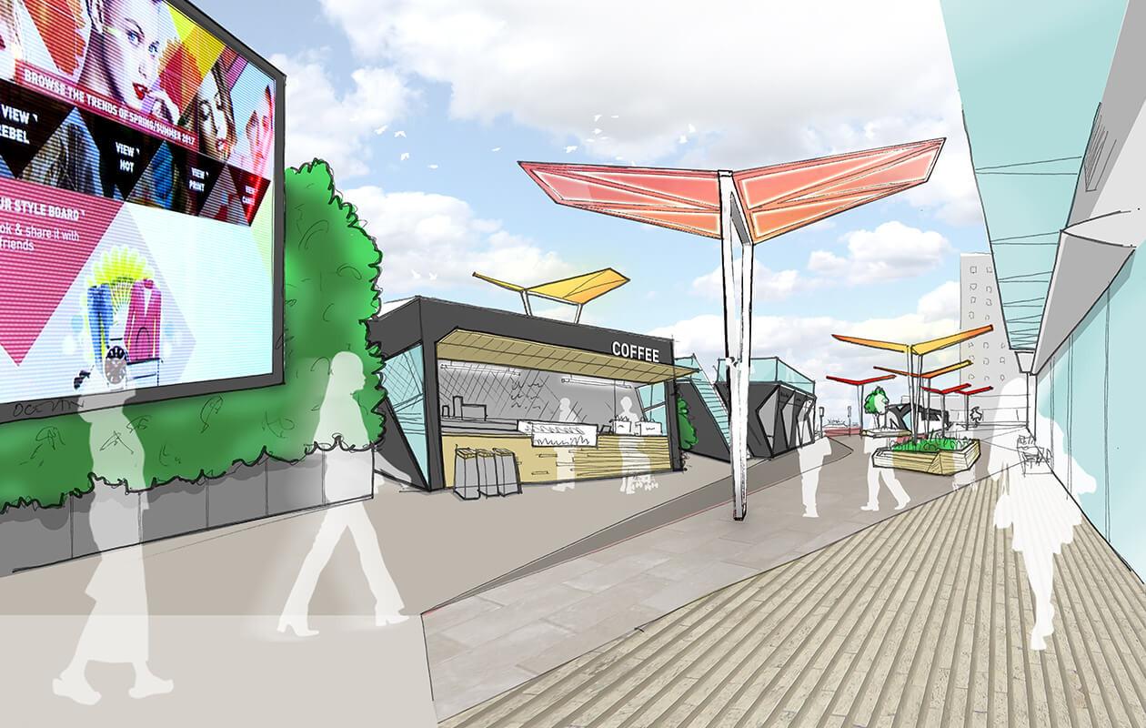 Transport hub concept design
