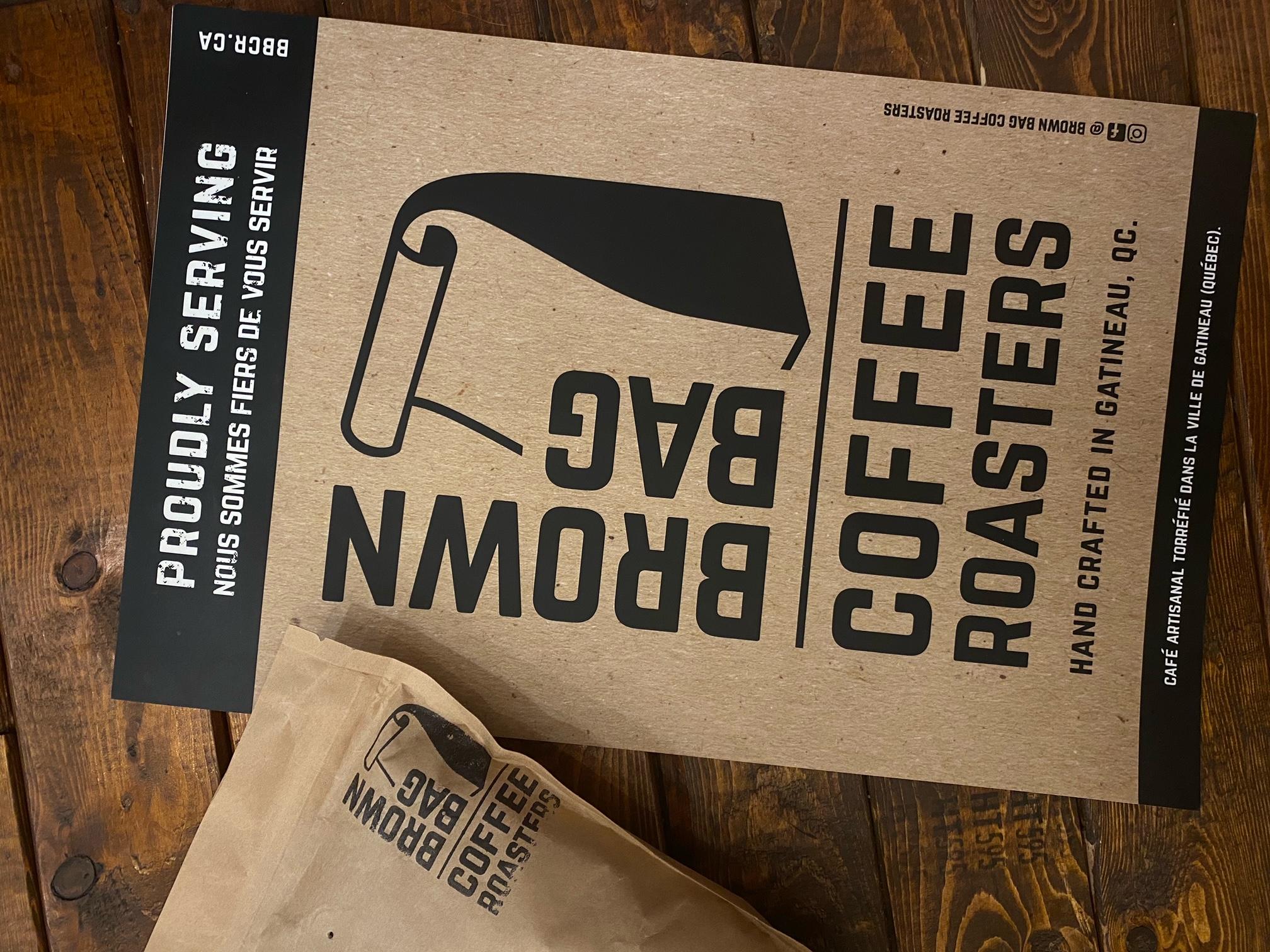 Coffee Roasters by Brown Bag Coffee
