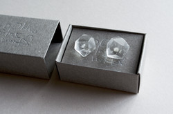 ice pierced earrings