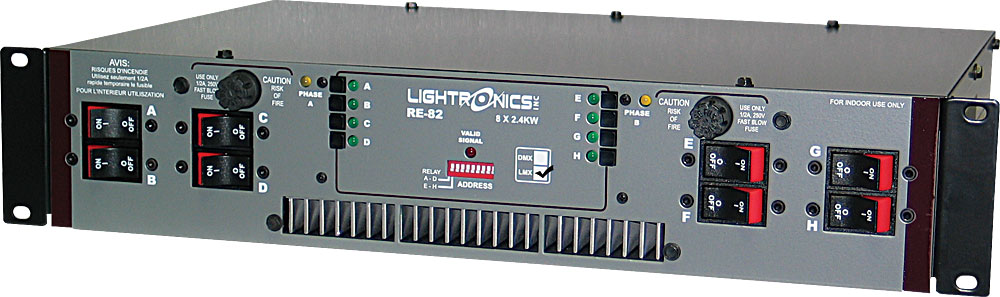 Lightronics_RE-82L_LMX_Dimmer_Rack