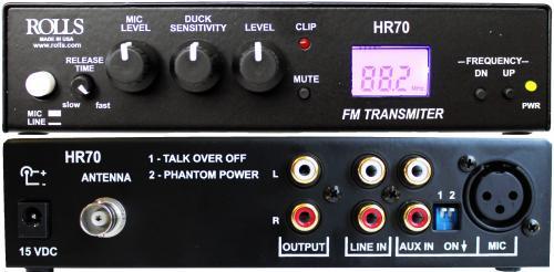 HR70_Rolls_FM_Transmitter