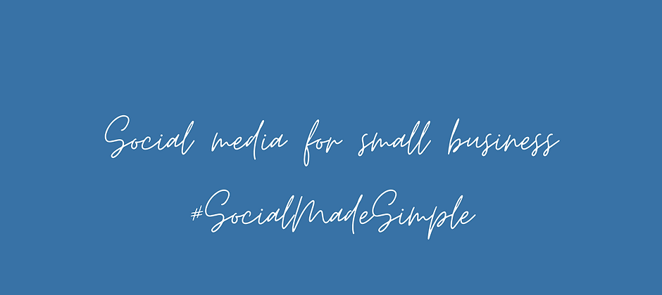 Copy of Social media for small business
