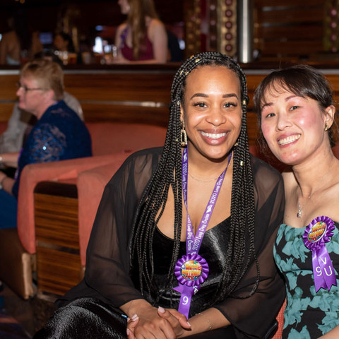 Karisse Paul and Vu Thao celebrate their ninth birthday together.
