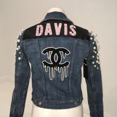 Davis Pearl Denim Jacket