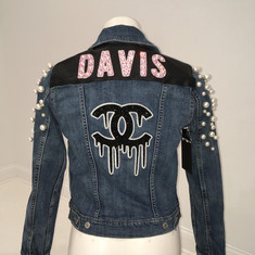 Davis Pearl Denim Jacket