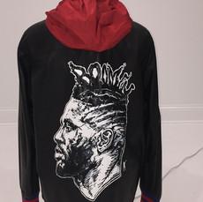 Gucci Hand-Painted Portrait Jacket