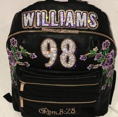 Williams Patches Diaper Bag