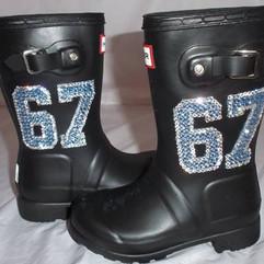 Hunter Jersey Wellie Boots