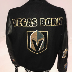 Vegas Born Bomber Jacket