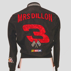 Mrs. Dillon Custom Swarovski Team Jacket