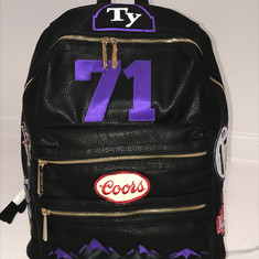 Ty Custom Patch Backpack