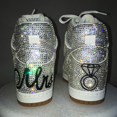 Bride Custom Nike Dunks