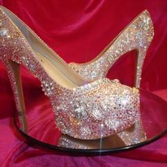 Cinderella Wedding Slippers