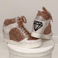 Diamond Nike Sky Hi Dunks-1
