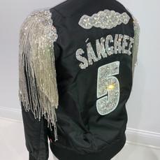 Sanchez Glitzy Bomber Jacket