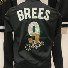 Mrs. Brees Varsity Jacket