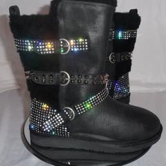 Swarovski Mesh Buckle Ugg Boots