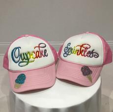 Cupcake & Sprinkles Caps