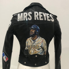 Mrs. Reyes Leather Patch Jacket