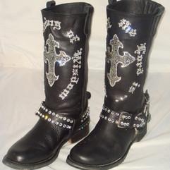 Walk By Faith Biker Boots