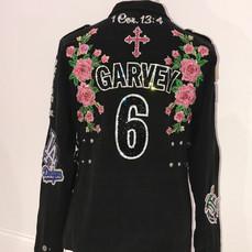 Garvey Roses Patch Jacket