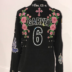 Garvey Roses Patch Jacket