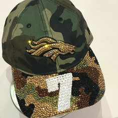 Broncos Camp Cap with Gold Brim