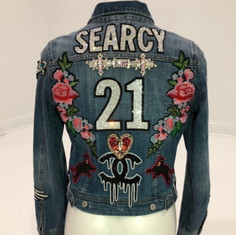 Searcy Denim Patch Jacket