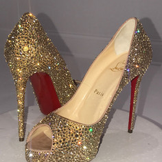 Custom Wedding Louboutins
