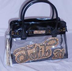 Talib See-Through Handbag