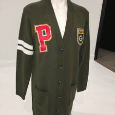Greenbay Letterman Sweater