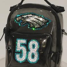 Eagles See-Thru Mini Bag