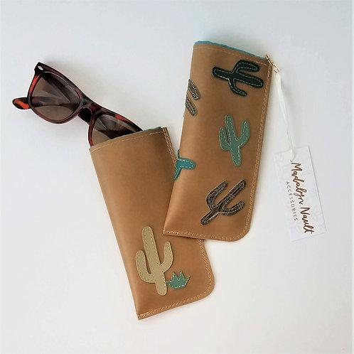 Cactus eye glass case