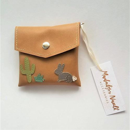 Desert Critters wallet/small clutch