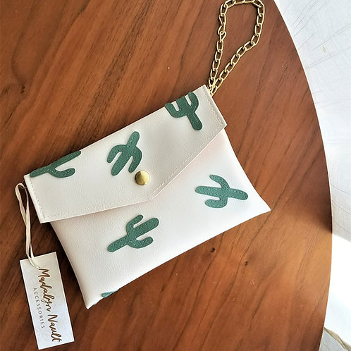Cactus All Over Wristlet