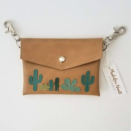 Cactus Long Wallet Hip-Clip Bag