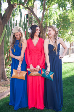 Bridesmaids Clutches