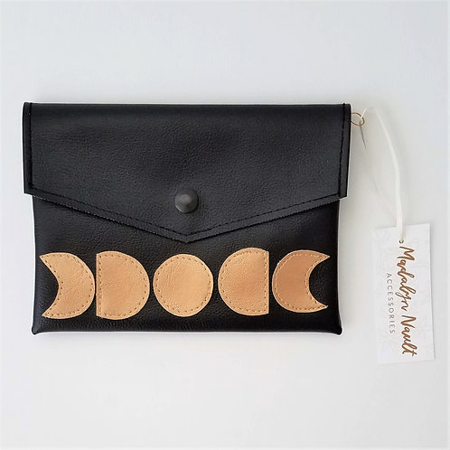 It's Just a Phase Moon Long Wallet/Small Clutch
