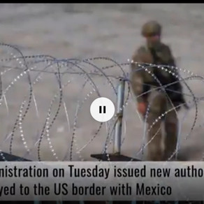 White House approves use of force, some law enforcement roles for border troops.