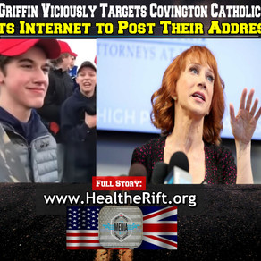 Kathy Griffin Viciously Targets Covington Catholic Kids. Ask's Internet to Post Addresses/Harass.