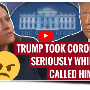 """WATCH: Reporter Asks If Trump Was """"Prepared"""" For Virus - Trump's Answer Stuns The Room."""
