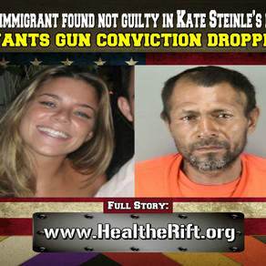 Illegal immigrant found not guilty in Kate Steinle's killing wants gun conviction dropped.